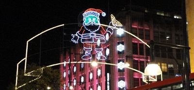 Santa Claus is Coming to Oxford Street