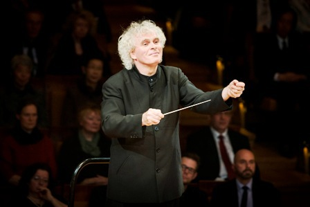 Sir Simon Rattle, Birmingham Symphony Hall, Elgar's The Dream of Gerontius