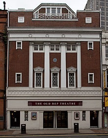 The old rep theatre, Birmingham