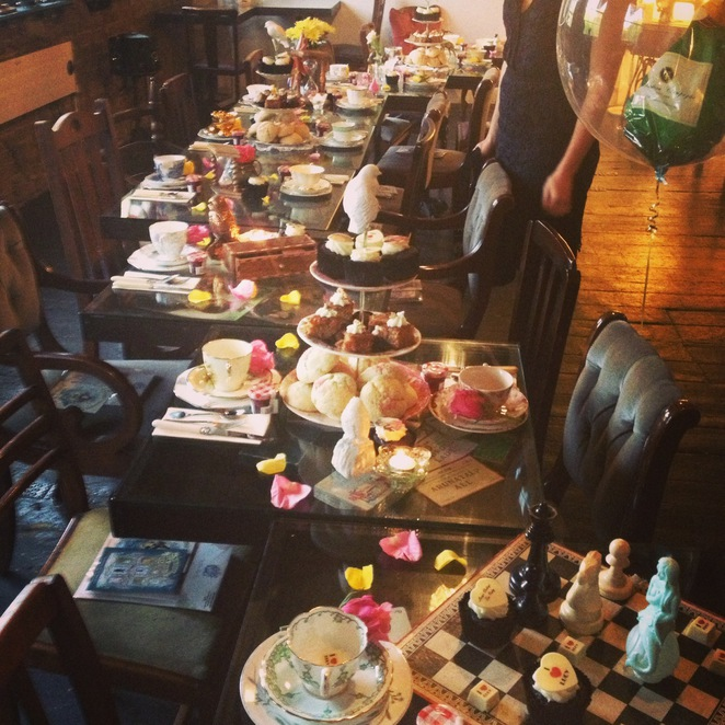 Vintage, Patisserie, Afternoon Tea, Cake, Sandwiches, Hackney