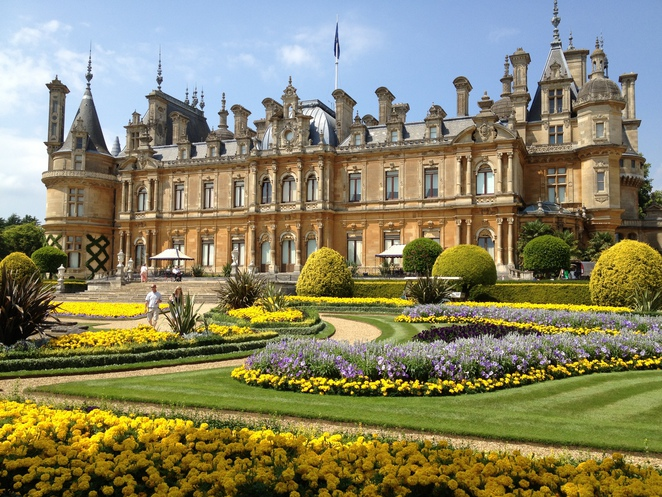 Waddesdon Manor, formal gardens