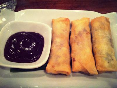Duck Hoisin Spring Rolls