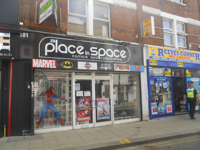 a place in space, comic, collectibles, croydon