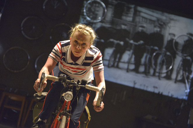 beryl burton, cycling, world champion, maxine peake, samantha power, birmingham rep, theatre
