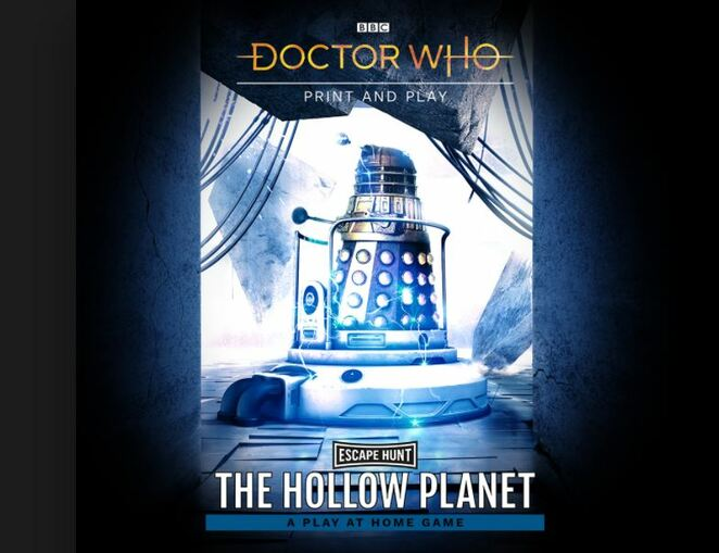 doctor who the hollow planet, escape hunt, play at home, bbc, game review