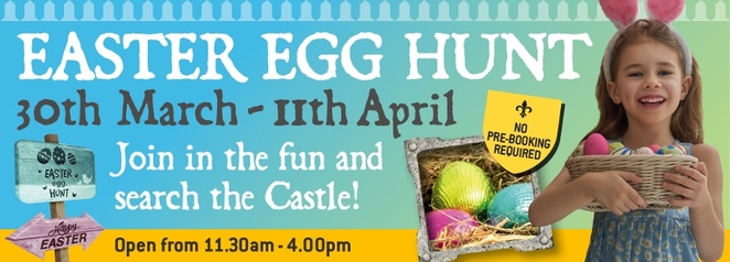 Easter Egg Hunt, Tamworth Castle