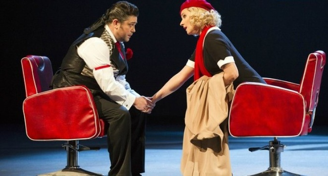 Figaro gets a divorce, theatre review, welsh national opera