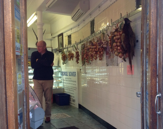 Game, pheasant, butcher, Edinburgh, Stockbridge