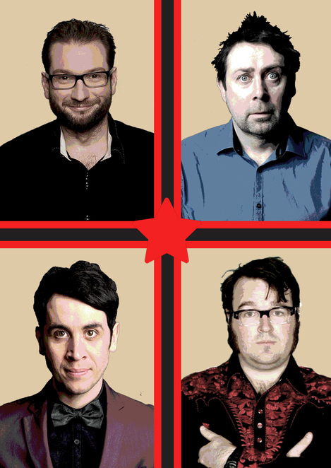 Gary Delaney, Pete Firman, Sean Hughes, Jarred Christmas, All-Star Stand-Up Show, Birmingham Town Hall