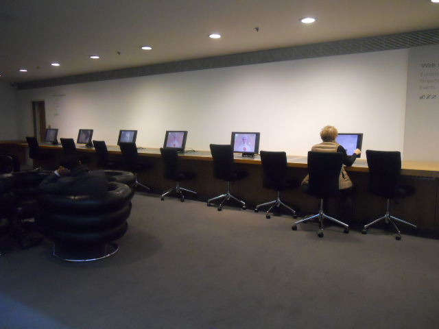 national Portrait Gallery, digital space, computers