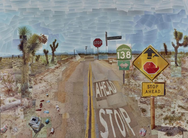 Pearl Blossom Highway, David Hockney