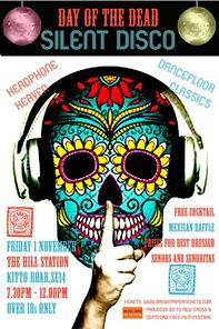 silent disco, day of the dead, hill station