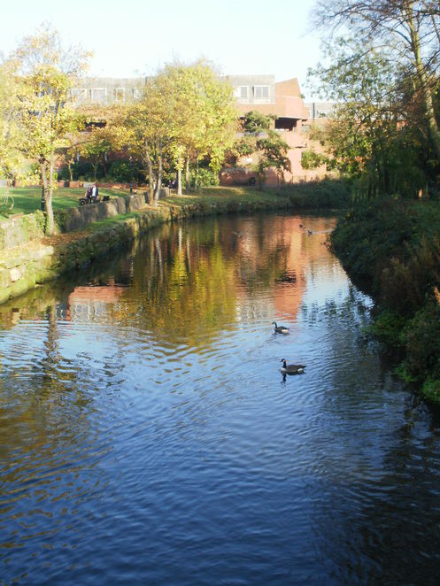 Tamworth, River Tame, River Anker