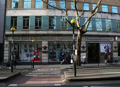 The London Forbidden Planet, Shaftesbury Avenue.