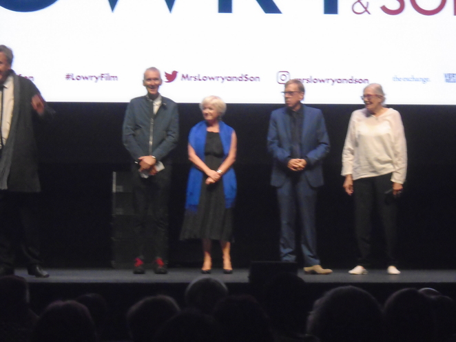 Timothy Spall, Vanessa Redgrave, LS Lowry, The Little Film Company, Lowry Centre, Genesius Pictures cinema, Manchester, Salford Quays