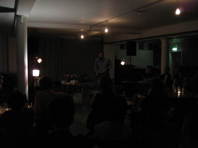 Cafe Oto performer