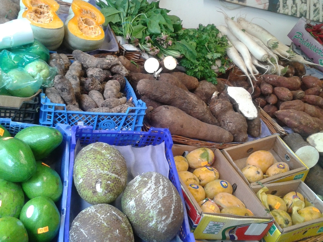 Carribean produce, groceries,