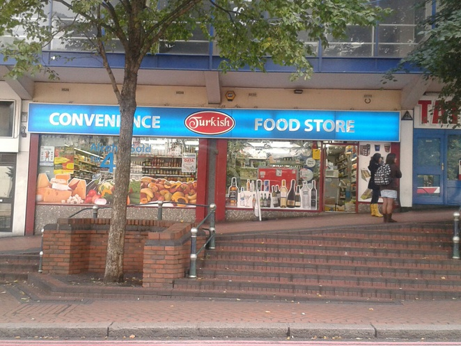 Convenience Food Shop, European produce