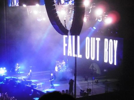Fall Out Boy, Patrick Stump, Pete Wentz, Barclaycard Arena Birmingham