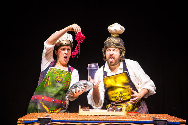 horrible histories, more best of barmy britain, winchester theatre royal, horrible histories live, childrens theatre
