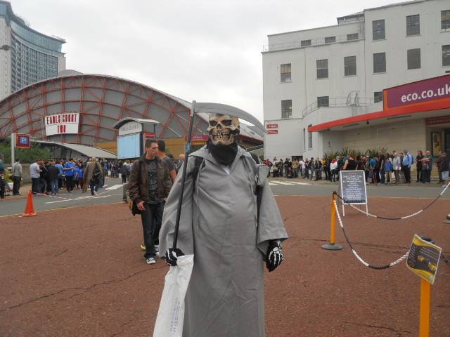 london film and comic convention, cosplay