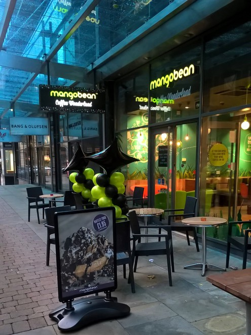 Mango Bean Coffee Wonderland, coffee shop, Manchester, Cafes, coffee,
