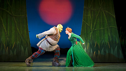 Shrek the musical, Birmingham, tour