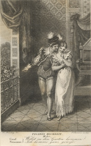 The Marriage of Figaro, Theatre, Salford Quays, Lowry Centre, Mozart, Opera North, Johann Heinrich Ramberg
