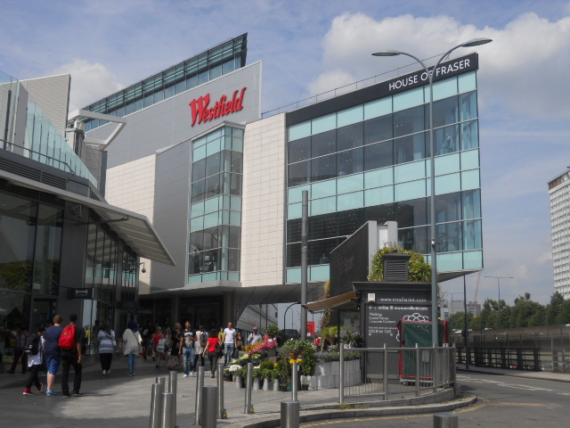 westfield london, shepherd's bush