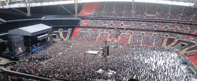 Bruce Springsteen Wrecking Ball Tour at Wembley Stadium