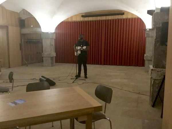 cafe in the crypt, spits live, chris ike, christ church spitalfields