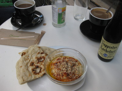 Cafe Oto Zardosht Persian meal