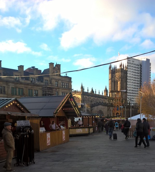 Christmas, Christmas market, market street, crafts, independent traders, small business, arts, presents, gifts, Manchester, stalls