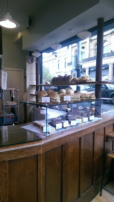 Cottonrake, coffee, bakery, bread, glasgow, westend, lunch