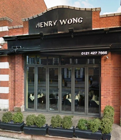Henry Wong, Harborne, best fine dining in Birmingham, top Chinese restaurants