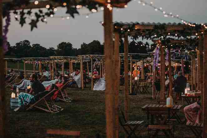 picnic at the castle, warwick castle, outdoor Midlands events