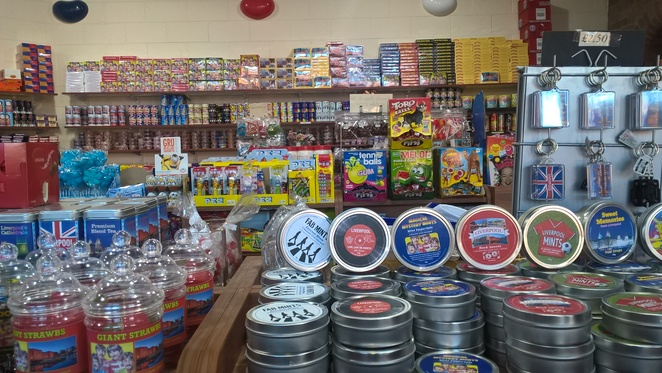 Quay confectionery, sweet shop, sweets, chocolate, candy, jelly beans