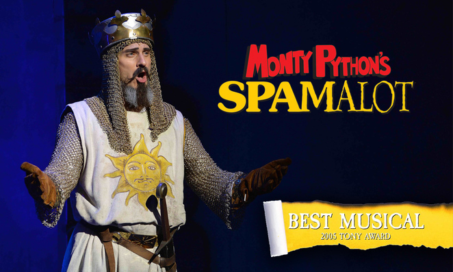 spamalot, the holy grail, new theatre royal portsmouth, portsmouth, theatre, monty python