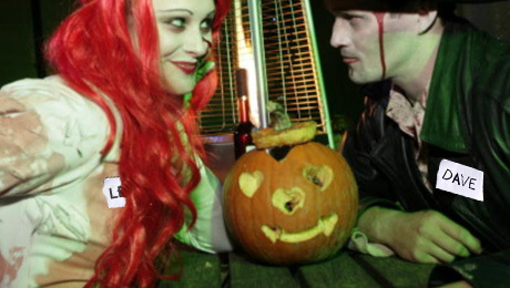 speed dating, slow dating, halloween