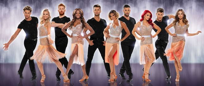 Strictly professionals on tour, Birmingham, symphony hall