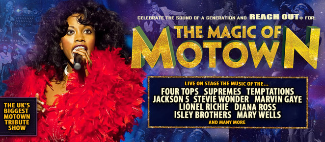the magic of motown, motown tribute show, diana ross, stevie wonder, jackson 5