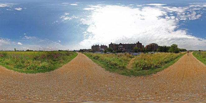 Walthamstow Marshes North London 360 Panorama