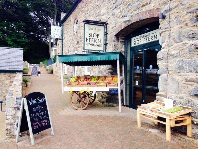 bodnant welsh food shop, bodnant gardens, north wales, llanwrst north wales, things to do in north wales, farm shops, welsh produce