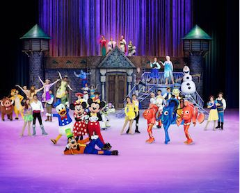 Disney on Ice, Genting Arena Birmingham, Ice Skating, Frozen