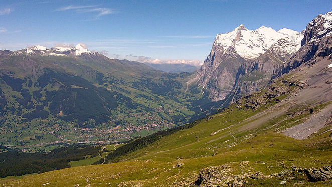 grindelwald, switzerland, alps