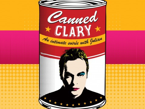julian clary, cabaret, st james's theatre