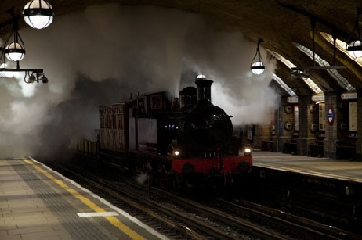 Steam Trains on the Tube