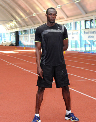 Usain Bolt at Brunel University - Wikimedia Commons