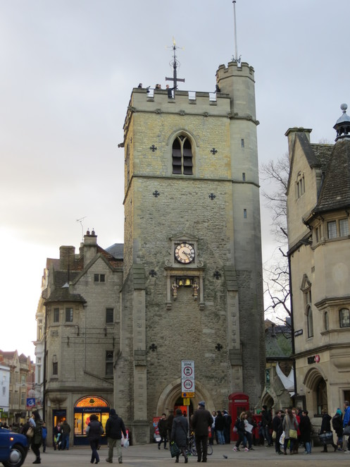 carfax, tower, oxford