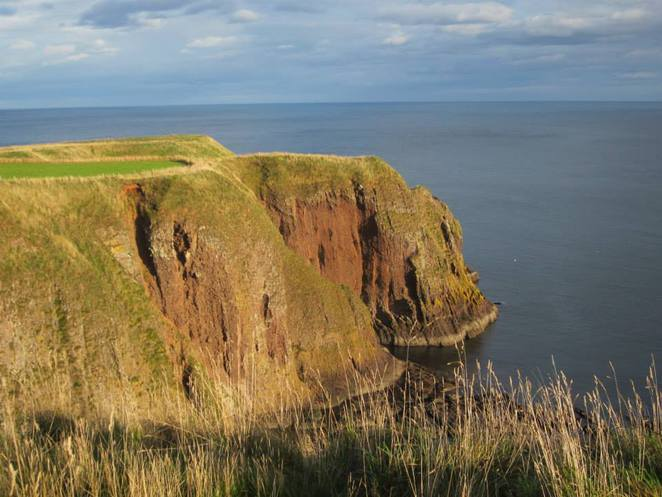 Cliffs, Dunnottar Castle